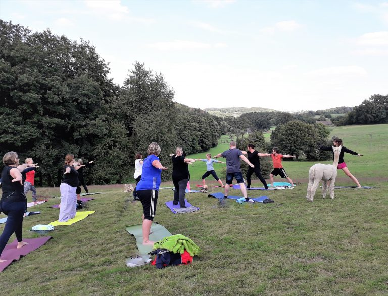 Sprockhövel Yoga #Yoga auf der Wiese Sommer 20