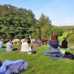 Yoga # Natur# Alpakas # Yoga in der Natur #Sprockhövel# Love
